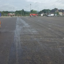 VW carpark lisburn | Armstrong Surfacing