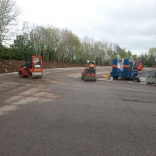 Avenue Recycling yard | Armstrong Surfacing