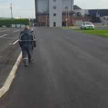 World Of Wonder Carpark Carrick | Armstrong Surfacing