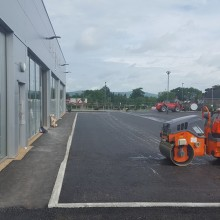 VW garage Lisburn | Armstrong Surfacing