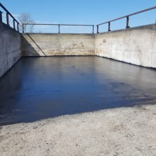 Silo Pit After | Armstrong Surfacing