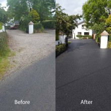 Ballinderry Before & After
