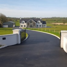 Hillsborough Private Driveway | Armstrong Surfacing